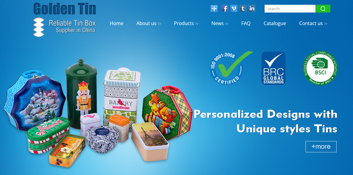 tin boxes manufacturer