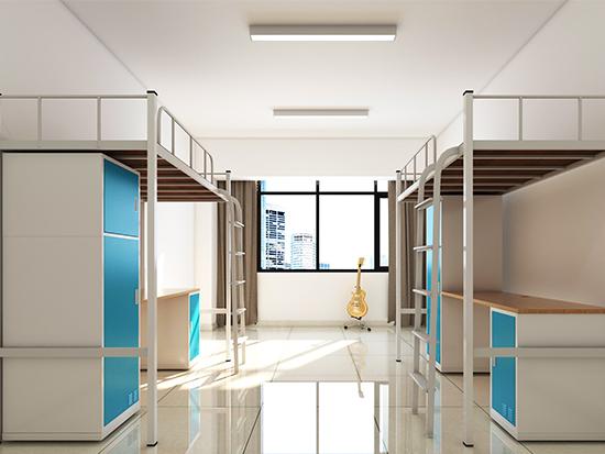 东莞宿舍用双层铁床厂家